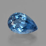 thumb image of 4.2ct Pear Facet London Blue Topaz (ID: 414749)