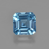 thumb image of 3.1ct Octagon Facet Swiss Blue Topaz (ID: 414867)