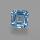 thumb image of 2.6ct Octagon Facet Swiss Blue Topaz (ID: 414869)