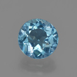 thumb image of 2.6ct Round Facet Swiss Blue Topaz (ID: 414888)
