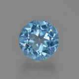 thumb image of 2.6ct Round Facet Swiss Blue Topaz (ID: 414892)