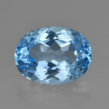 thumb image of 22.8ct Oval Facet Swiss Blue Topaz (ID: 414911)