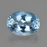 thumb image of 23.5ct Oval Facet Swiss Blue Topaz (ID: 414912)