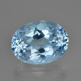 thumb image of 24.7ct Oval Facet Swiss Blue Topaz (ID: 414915)