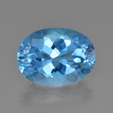 thumb image of 20.9ct Oval Facet Swiss Blue Topaz (ID: 415301)