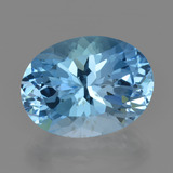 thumb image of 22ct Oval Facet Swiss Blue Topaz (ID: 415306)