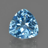 thumb image of 4.2ct Trillion Facet Swiss Blue Topaz (ID: 415571)