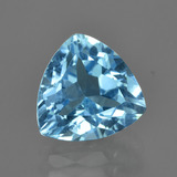 thumb image of 4.1ct Trillion Facet Swiss Blue Topaz (ID: 415576)