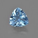 thumb image of 3.6ct Trillion Facet Swiss Blue Topaz (ID: 415724)
