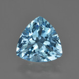 thumb image of 3.8ct Trillion Facet Swiss Blue Topaz (ID: 416230)