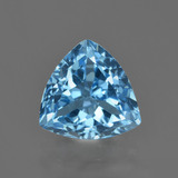 thumb image of 4.1ct Trillion Facet Swiss Blue Topaz (ID: 416232)
