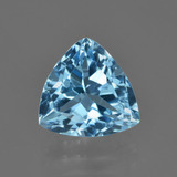 thumb image of 4ct Trillion Facet Swiss Blue Topaz (ID: 416236)