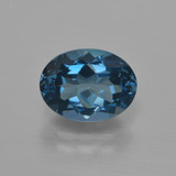 thumb image of 3ct Oval Facet London Blue Topaz (ID: 416449)