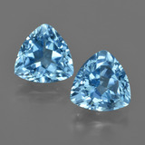 thumb image of 7.5ct Trillion Facet Swiss Blue Topaz (ID: 416548)