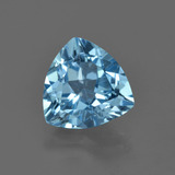 thumb image of 3.3ct Trillion Facet Swiss Blue Topaz (ID: 416724)