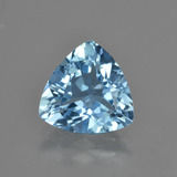 thumb image of 3.4ct Trillion Facet Swiss Blue Topaz (ID: 417081)