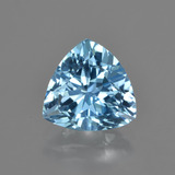 thumb image of 3.6ct Trillion Facet Swiss Blue Topaz (ID: 417082)