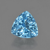 thumb image of 4.3ct Trillion Facet Swiss Blue Topaz (ID: 417091)