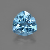 thumb image of 3.4ct Trillion Facet Swiss Blue Topaz (ID: 417119)
