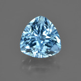 thumb image of 4.4ct Trillion Facet Swiss Blue Topaz (ID: 417127)