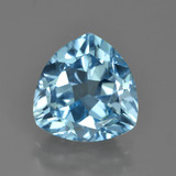 thumb image of 3.5ct Trillion Facet Swiss Blue Topaz (ID: 417472)