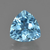thumb image of 4.2ct Trillion Facet Swiss Blue Topaz (ID: 417507)