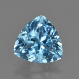thumb image of 3.7ct Trillion Facet Swiss Blue Topaz (ID: 417508)