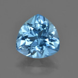 thumb image of 3.4ct Trillion Facet Swiss Blue Topaz (ID: 417547)