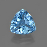 thumb image of 4ct Trillion Facet Swiss Blue Topaz (ID: 417552)