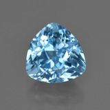 thumb image of 4.5ct Trillion Facet Swiss Blue Topaz (ID: 417554)