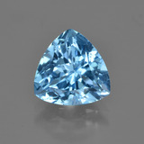 thumb image of 3.9ct Trillion Facet Swiss Blue Topaz (ID: 417555)