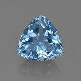 thumb image of 3.7ct Trillion Facet Swiss Blue Topaz (ID: 417574)