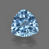 thumb image of 3.7ct Trillion Facet Swiss Blue Topaz (ID: 417577)