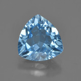 thumb image of 3.5ct Trillion Facet Swiss Blue Topaz (ID: 417578)