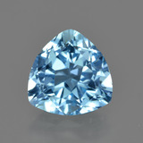 thumb image of 3.7ct Trillion Facet Swiss Blue Topaz (ID: 417633)
