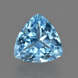 thumb image of 3.9ct Trillion Facet Swiss Blue Topaz (ID: 417637)