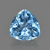thumb image of 4.1ct Trillion Facet Swiss Blue Topaz (ID: 417638)