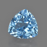 thumb image of 3.9ct Trillion Facet Swiss Blue Topaz (ID: 417640)
