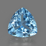 thumb image of 3.9ct Trillion Facet Swiss Blue Topaz (ID: 417693)