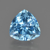 thumb image of 3.9ct Trillion Facet Swiss Blue Topaz (ID: 417694)