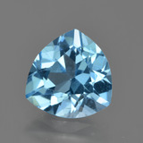thumb image of 3.3ct Trillion Facet Swiss Blue Topaz (ID: 417696)