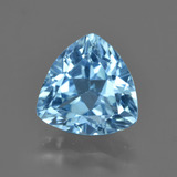 thumb image of 3.8ct Trillion Facet Swiss Blue Topaz (ID: 417728)