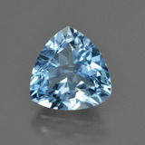 thumb image of 3.8ct Trillion Facet Swiss Blue Topaz (ID: 417730)