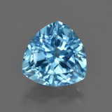 thumb image of 4.2ct Trillion Facet Swiss Blue Topaz (ID: 417731)