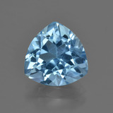 thumb image of 3.4ct Trillion Facet Swiss Blue Topaz (ID: 417732)