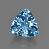 thumb image of 3.8ct Trillion Facet Swiss Blue Topaz (ID: 417734)