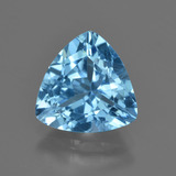 thumb image of 4ct Trillion Facet Swiss Blue Topaz (ID: 417735)