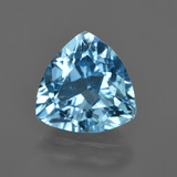 thumb image of 3.5ct Trillion Facet Swiss Blue Topaz (ID: 417877)