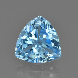 thumb image of 3.5ct Trillion Facet Swiss Blue Topaz (ID: 417894)