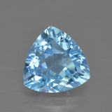 thumb image of 3.5ct Trillion Facet Swiss Blue Topaz (ID: 417899)